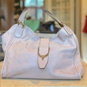 GUCCI Calfskin Blush/Light Pink Shoulder Bag